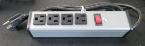 4 Outlet Power Strip USA