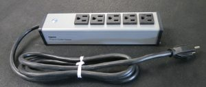 5 Outlet Power Strip USA