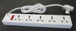 5 Outlet Power Strip Universal