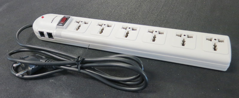 6 Outlet Power String Universal