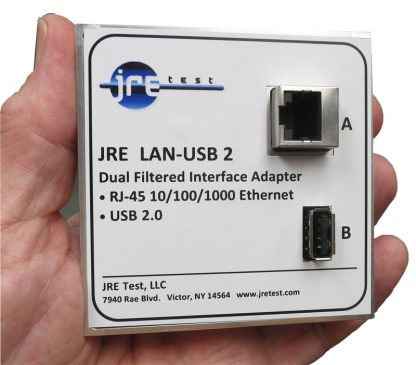 JRE LAN-USB 2 filtered interface