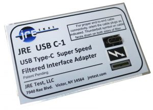 JRE USB C type RF Filtered interface