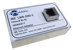 JRE LAN-10G Filtered 10GBASE-T ethernet adapter front view