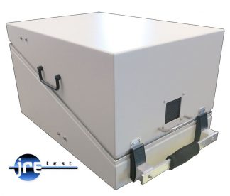JRE1522 RF shielded test enclosure closed