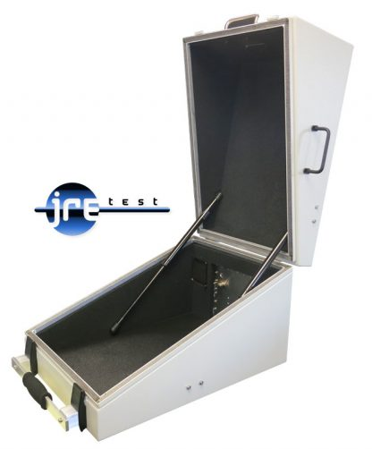 JRE1522 RF shielded test enclosure opened