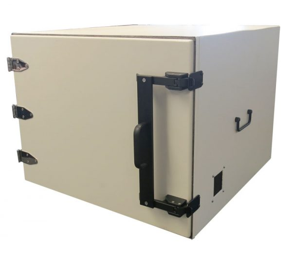 JRE2525 RF Shielded test enclosure front view