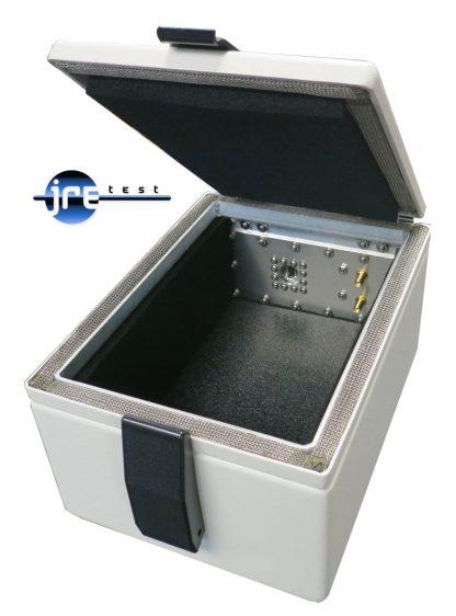 JRE Test JRE 0709-U RF Shielded test enclosure with USB 2.0 filtered interface