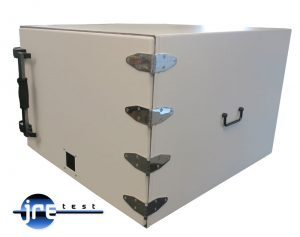 JRE2830 RF shielded test enclosure side view