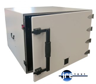 JRE2830 RF shielded test enclosure front view