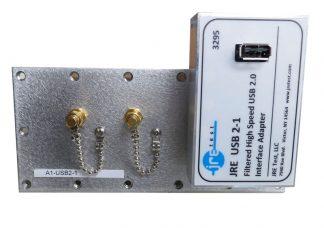 JRE Test A1-USB2-1 populated I/O plate