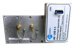 JRE Test A1-USB3-1 populated I/O plate