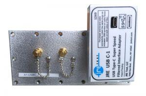 JRE Test A1-USB-C populated I/O plate