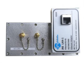 JRE Test A2-LAN1 populated I/O plate