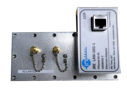 JRE Test A2-LAN10G populated I/O plate