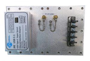 JRE B1-4T-USB-C Fast Track Populated I/O Plate