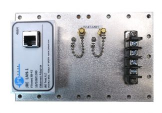 JRE Test B2-4T-LAN1 populated I/O plate