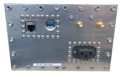 JRE B3-AC-LAN-USB3 Fast Track Populated I/O Plate rear view