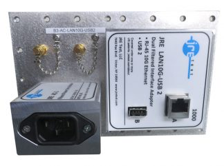 JRE Test B3-AC-LAN10G-USB2 populated I/O plate