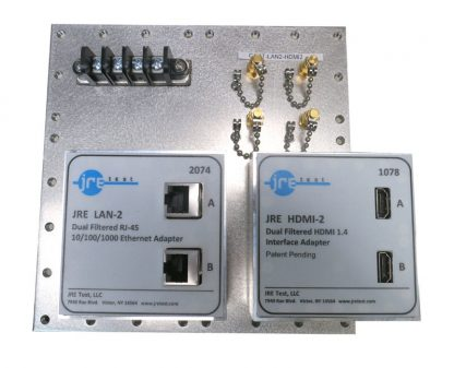 JRE Test C1-4T-LAN2-HDMI2 populated I/O plate