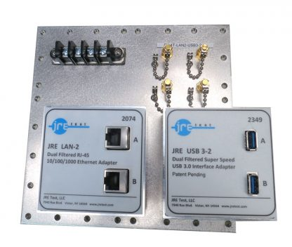 JRE Test C1-4T-LAN2-USB3-2 populated I/O plate