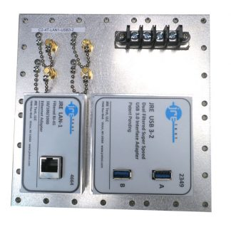 JRE Test C2-4T-LAN1-USB3-2 Populated I/O plate