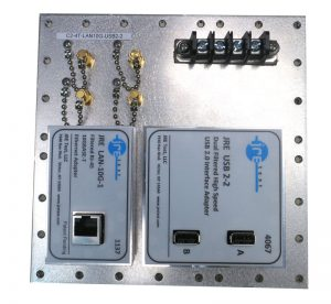 JRE Test C2-4T-LAN10G-USB2-2 Populated I/O plate