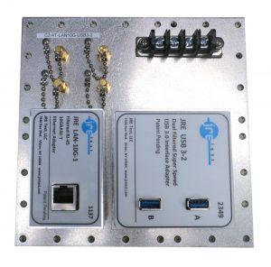 JRE Test C2-4T-LAN10G-USB3-2 Fast Track Populated I/O Plate