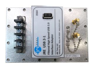 JRE Test D1-4T-USB2 populated I/O plate