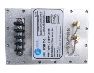 JRE Test D1-4T-USBC populated I/O plate