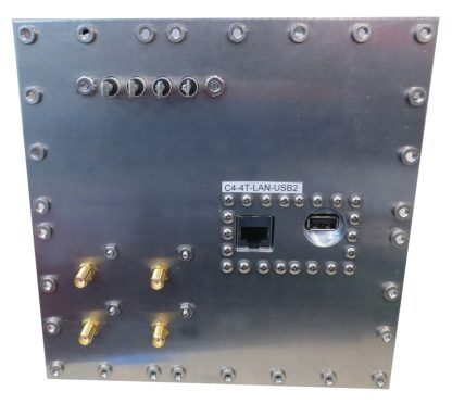 JRE Test C4-4 term-LAN-USB2-rear view populated I/O plate