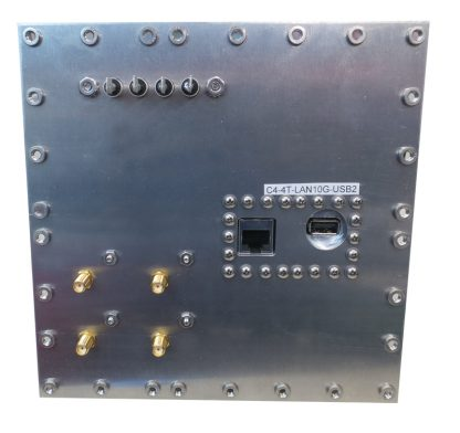 JRE Test C4-4 term-LAN10G-USB2-rear view populated I/O plate