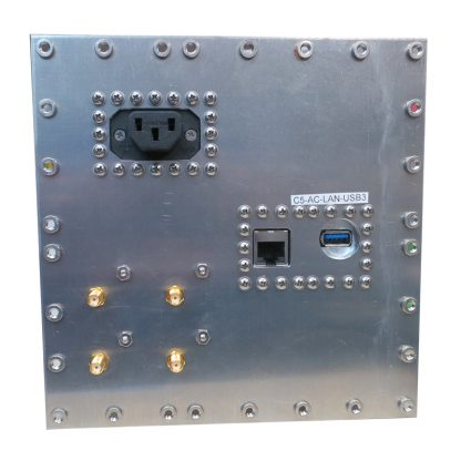 JRE Test C5-AC-LAN-USB3-rear view populated I/O plate