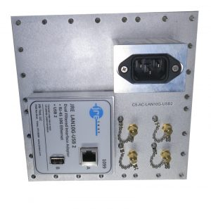 JRE Test C5-AC-LAN10G-USB2-front populated I/O plate