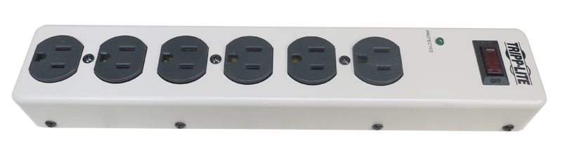 JRE Test 6 outlet USA power strip