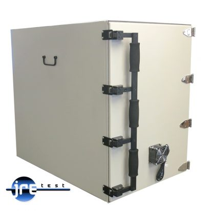 JRE Test JRE2233 RF test chamber front left view