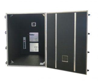 JRE Test JRE2233 RF Test Chamber door open